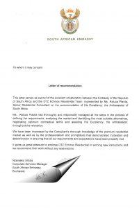 South Africa cw echinox